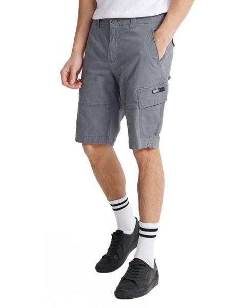 Superdry Core Cargo Shorts Naval Grey | Jean Scene