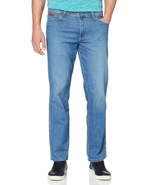 Wrangler Texas Stretch Denim Stretch Jeans Mistral Green