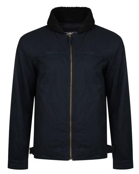 Ringspun Cotton Jacket Black | Jean Scene