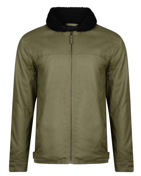 Ringspun Cotton Jacket Military | Jean Scene