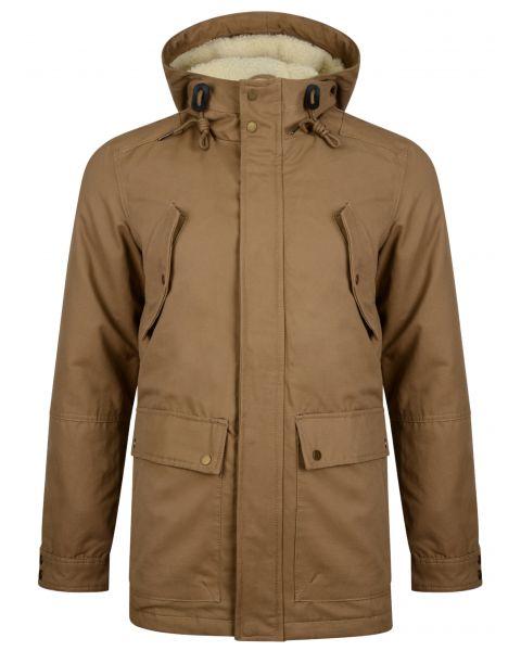 Ringspun Long Jacket British Tan | Jean Scene