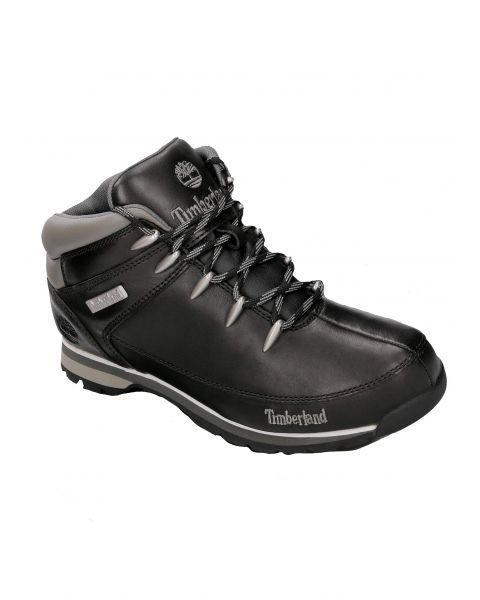 Timberland Men's Euro Sprint Hiker Shoes Black   Jean Scene