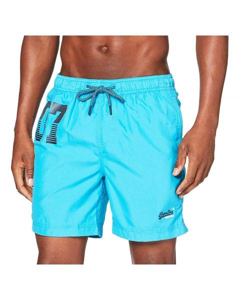 Superdry Water Polo Men's Shorts Ocean Blue | Jean Scene