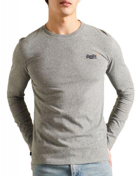 Superdry Orange Label Men's T-Shirt Grey Marl | Jean Scene