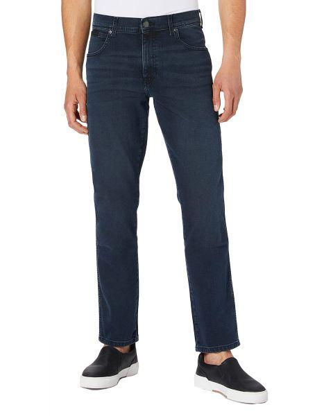 Wrangler Texas Slim Denim Jeans Bruised River | Jean Scene
