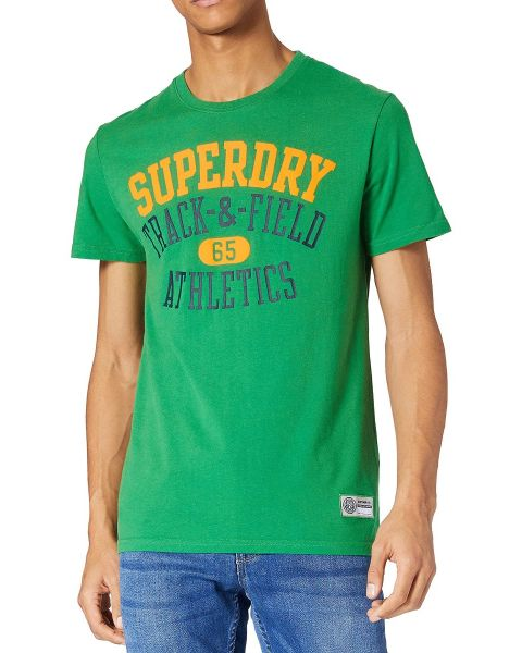 Superdry Track & Field Graphic Crew Neck T-Shirt Oregon