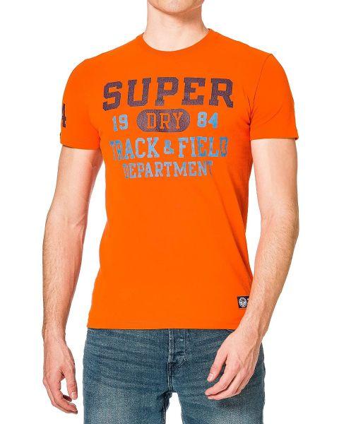 Superdry Track & Field Graphic Crew Neck T-Shirt Denver