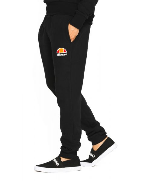 Ellesse Men's Ovest Logo Jogging Bottoms Anthracite | Jean Scene
