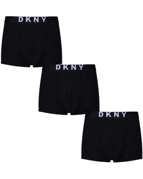 DKNY New York 3 PACK Trunks Black
