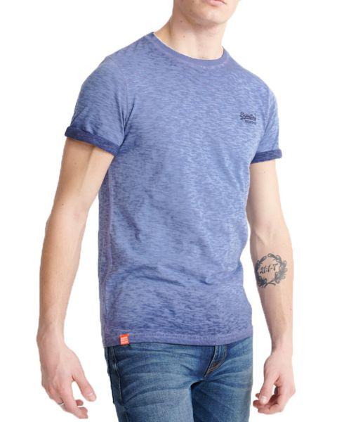 Superdry Orange Label Low Roller T-Shirt Rich Navy