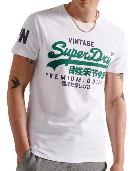 Superdry Vintage Logo T-Shirt Optic