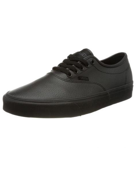 VANS Doheny Decon Tumble Leather Trainers Black