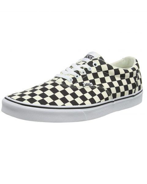 Vans Men's Doheny Checkerboard Shoes CheckerClcWhite | Jean Scene