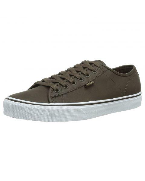 Vans Men's Ferris Leather Buck Shoes Trainers Brown | Jean Scene