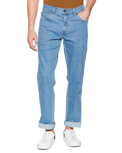 Wrangler Basic Denim Jeans Lightstone | Jean Scene
