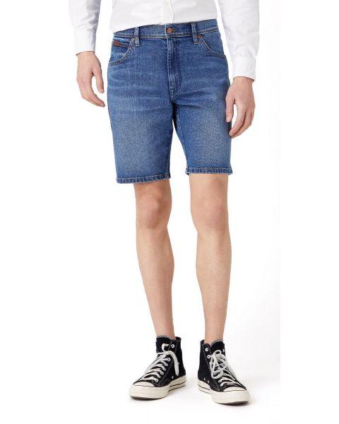 Wrangler Texas Stretch Denim Shorts The Ace | Jean Scene