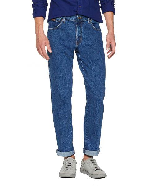 Wrangler Texas Stretch Denim Jeans Mid Rocks | Jean Scene