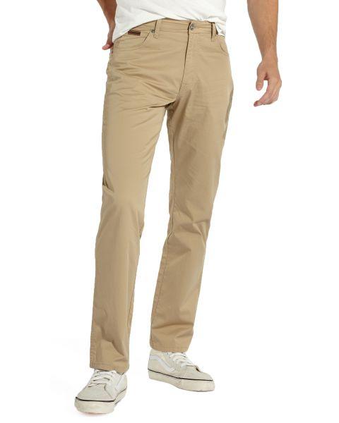 Wrangler Texas Stretch Summer OO Fabric Jeans Cornstalk | Jean Scene