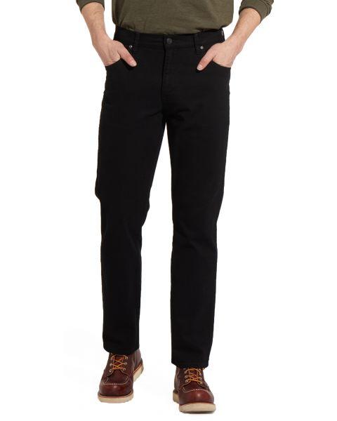 Wrangler Texas Stretch Soft Fabric Black | Jean Scene