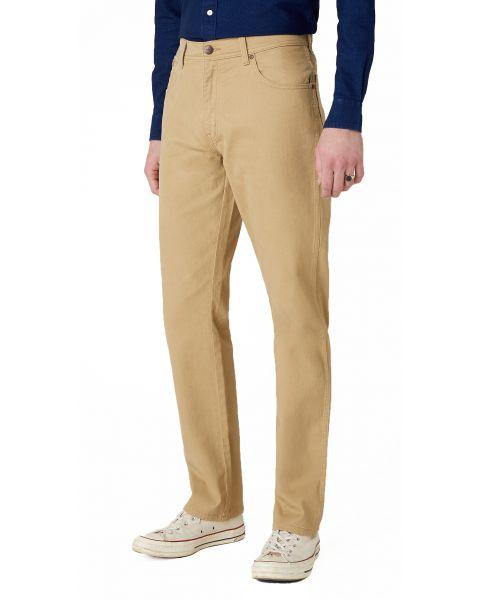 Wrangler Texas Stretch Soft TA Fabric Jeans Sand | Jean Scene