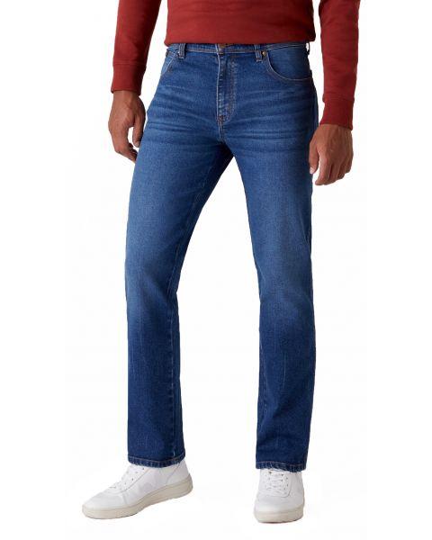 Wrangler Texas Stretch Denim Jeans Frost Bite | Jean Scene