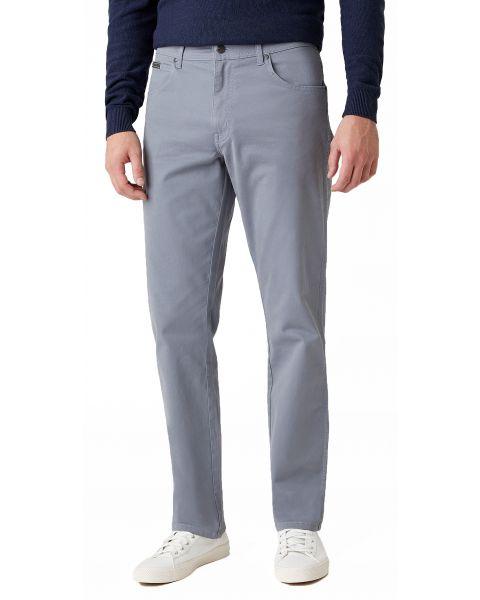 Wrangler Texas Stretch W3 Soft Fabric Jeans Slate Blue | Jean Scene