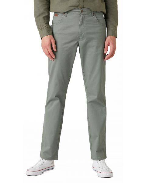 Wrangler Texas Stretch W3 Soft Fabric Jeans Wreath Green | Jean Scene