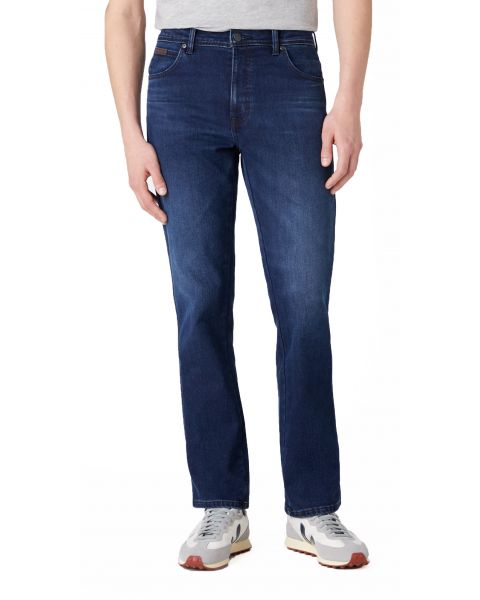 Wrangler Texas Stretch Denim Jeans Brushed Up | Jean Scene
