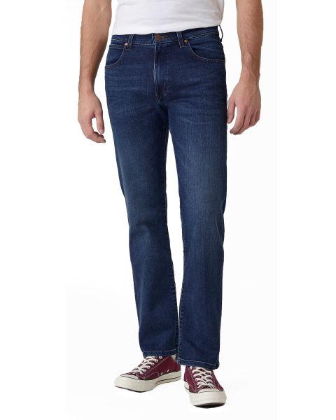 Wrangler Arizona Stretch Denim Jeans Comfy Break Blue | Jean Scene