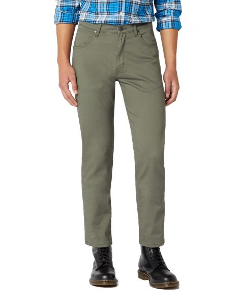 Wrangler Arizona Stretch W3 Fabric Jeans Duffelbag Green | Jean Scene