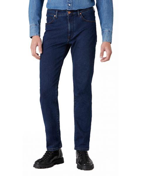 Wrangler Arizona Stretch Denim Jeans Dark Fuzz | Jean Scene