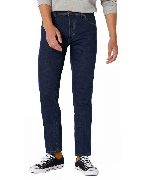 Wrangler Texas Slim Stretch Denim Jeans Cross Game | Jean Scene