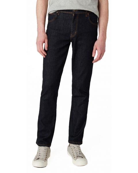 Wrangler Texas Slim Stretch Denim Jeans Dark Rinse | Jean Scene