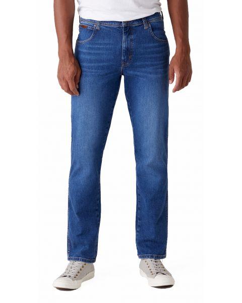 Wrangler Texas Slim Stretch Denim Jeans Game On | Jean Scene