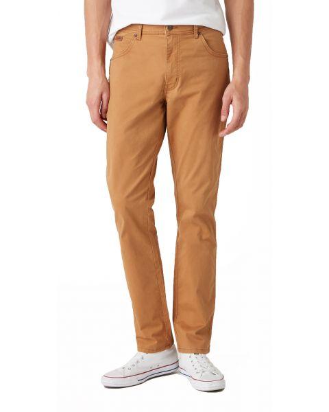 Wrangler Texas Slim W7 Soft Fabric Jeans Biscuit | Jean Scene