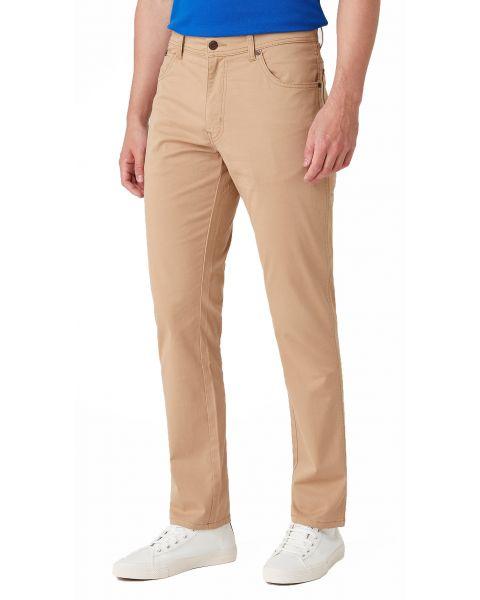 Wrangler Texas Slim WA Soft Fabric Jeans Cornstalk | Jean Scene