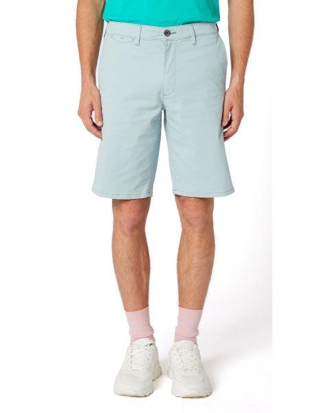 Wrangler Chino Casual Cotton Shorts Mist Blue | Jean Scene