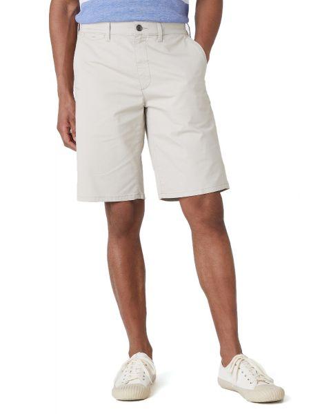 Wrangler Chino Casual Cotton Shorts Stone | Jean Scene