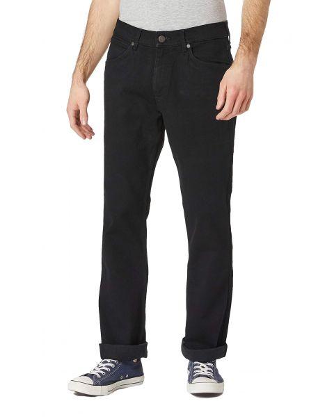 Wrangler Jacksville Bootcut Denim Jeans Black | Jean Scene