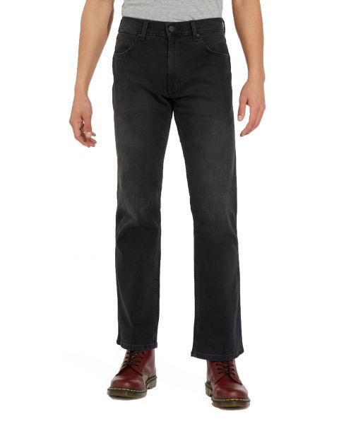 Wrangler Jacksville Bootcut Denim Jeans Black Walker | Jean Scene