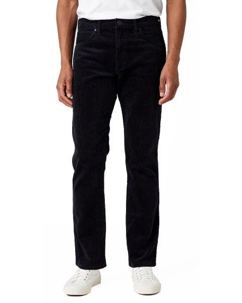 Wrangler Greensboro Stretch Corduroy Jeans Black | Jean Scene