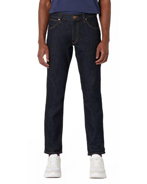 Wrangler Greensboro Stretch Denim Jeans Dark Rinse | Jean Scene