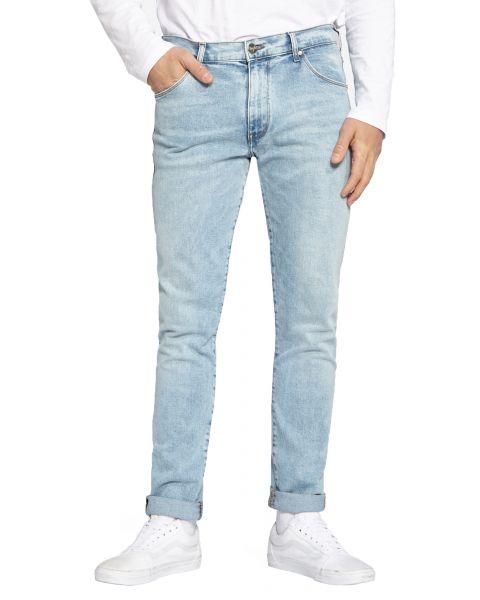 Wrangler Larston Skinny Slim Jeans Light Grade | Jean Scene