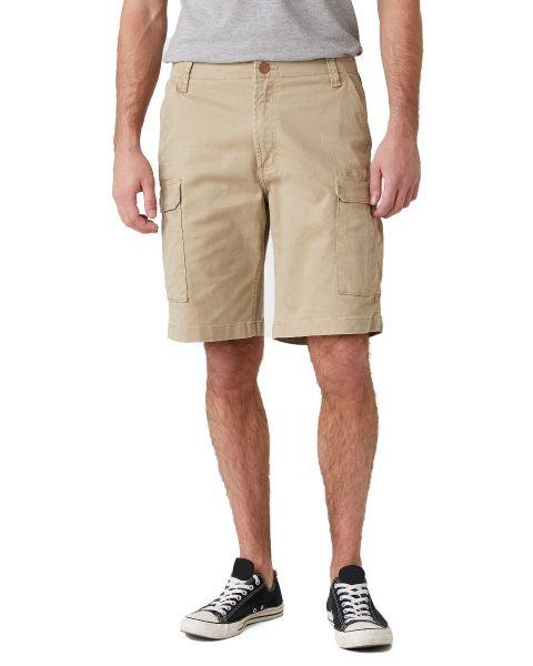 Wrangler Casey Cargo Cotton Shorts Saddle | Jean Scene