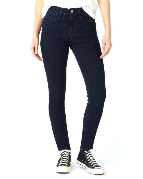 Wrangler Ladies High Rise Skinny Stretch Denim Jeans Before Dark | Jean Scene