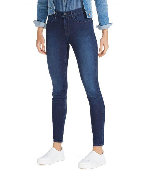 Wrangler High Skinny Women's Slim Stretch Jeans Subtle Blue | Jean Scene