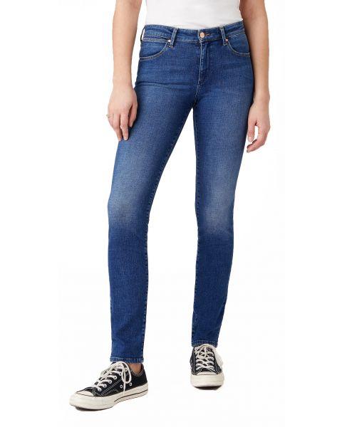 Wrangler Slim Women's Slim Stretch Jeans Light Sea | Jean Scene