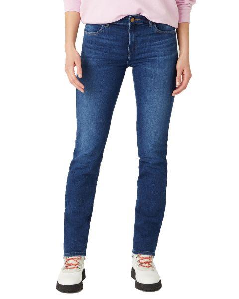 Wrangler Ladies Slim Stretch Denim Jeans Authentic Love | Jean Scene