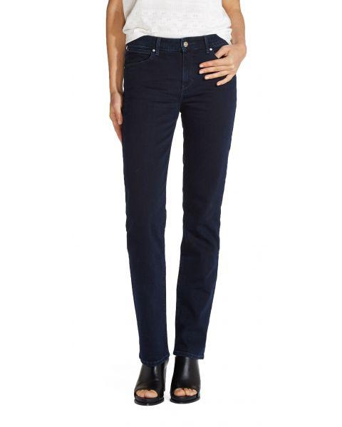 Wrangler Straight Women's Stretch Jeans Blue Black | Jean Scene