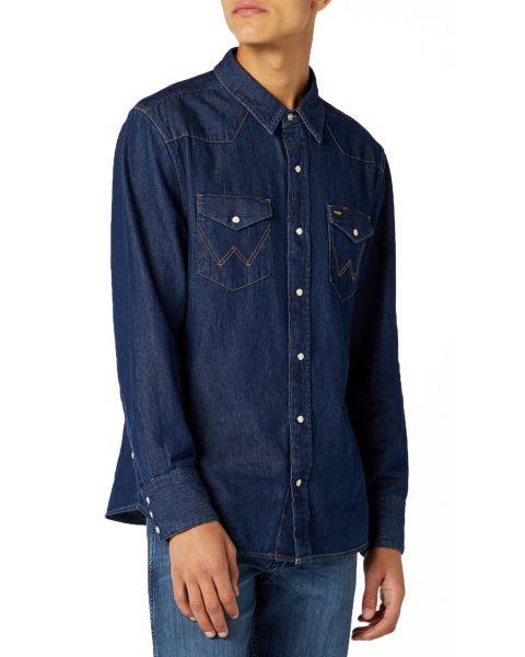 Wrangler Denim Men's Shirts New | Jean Scene